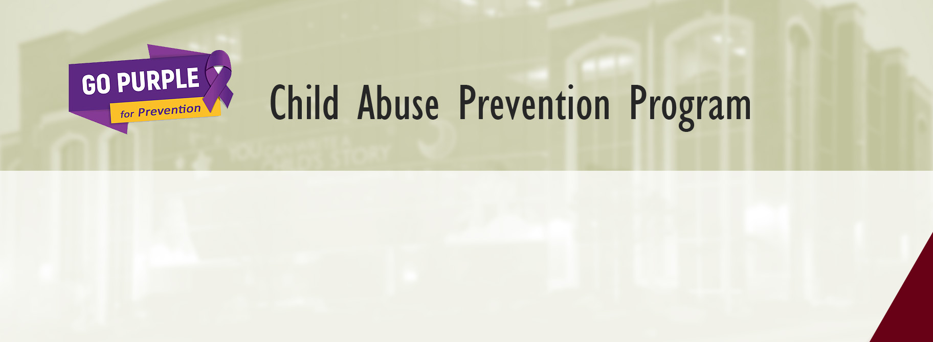 Child Abuse Prevention Program
