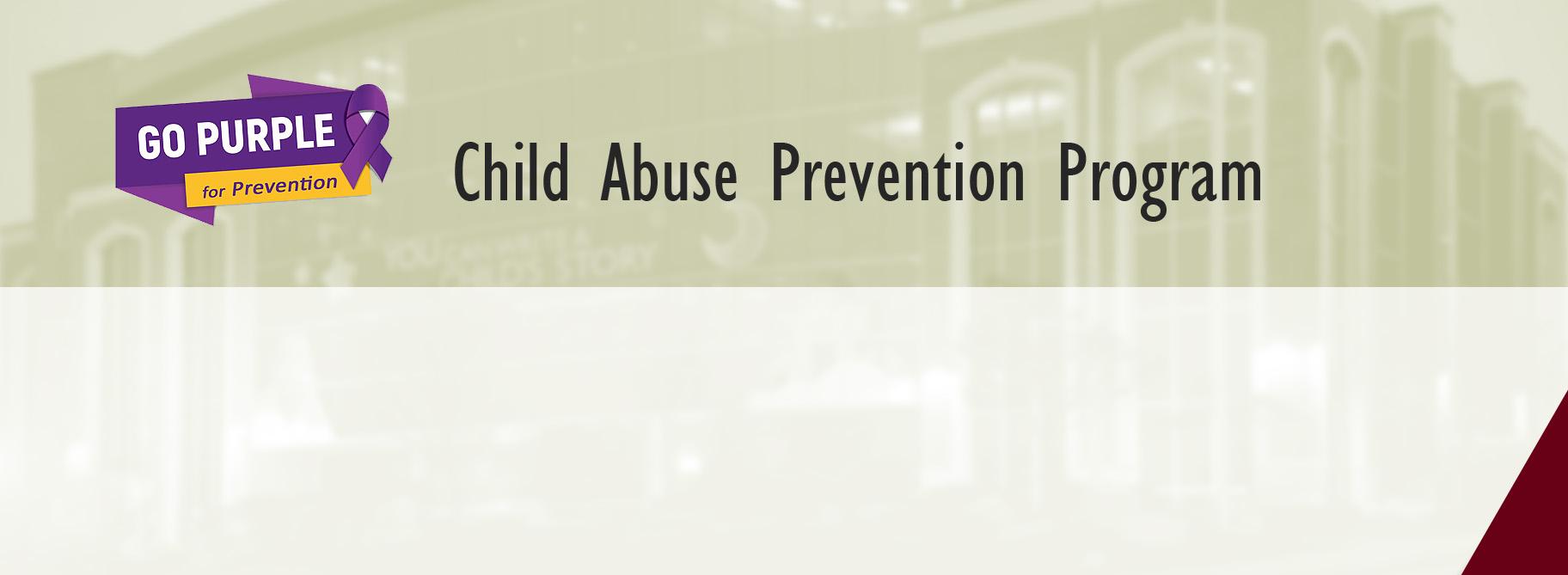 Child Abuse Prevention Program