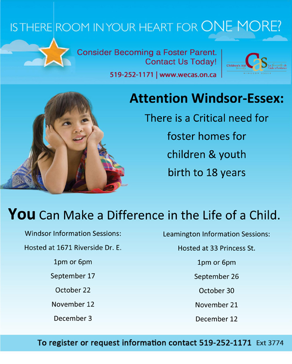 Foster Information Sessions